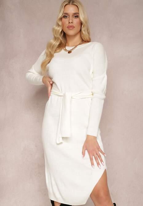 Biała Sukienka Zeliphis