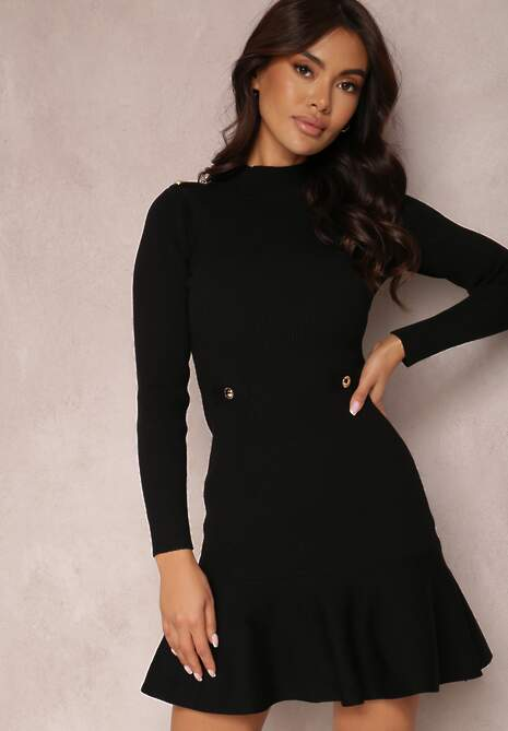 Czarna Sukienka Neliene