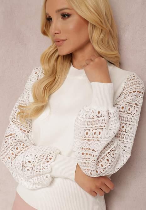 Biały Sweter Yesera