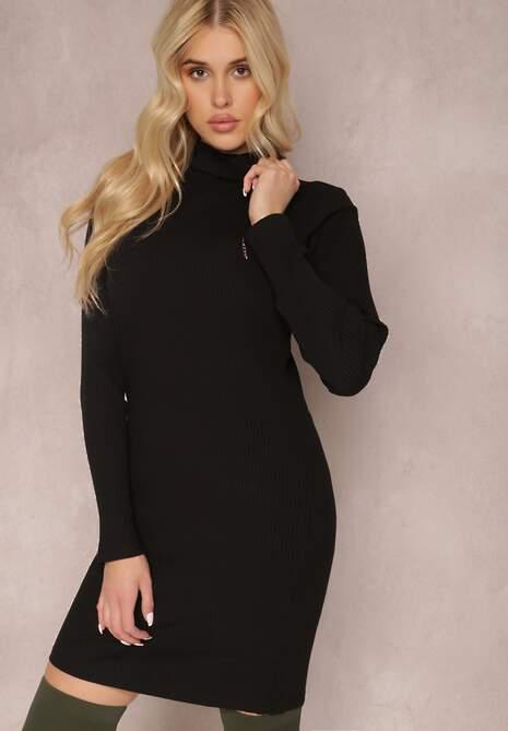 Czarna Sukienka Calynne