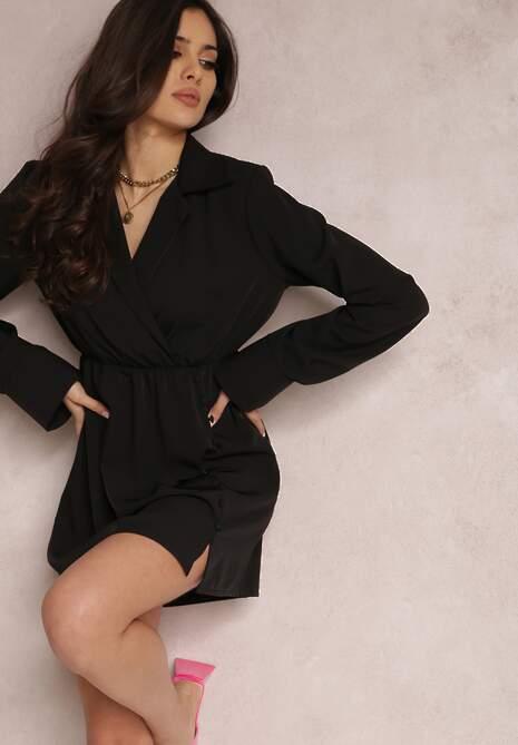 Czarna Sukienka Tyrera