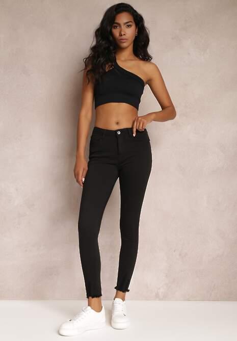 Czarne Spodnie Skinny Tenyrea