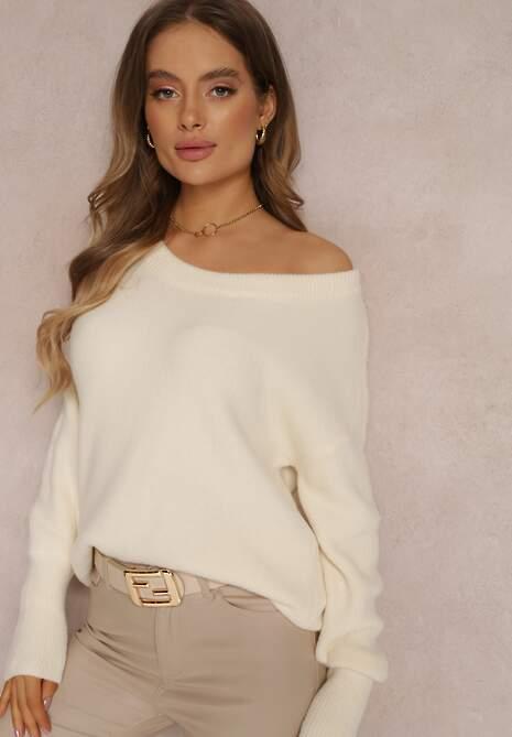 Kremowy Sweter Lyna