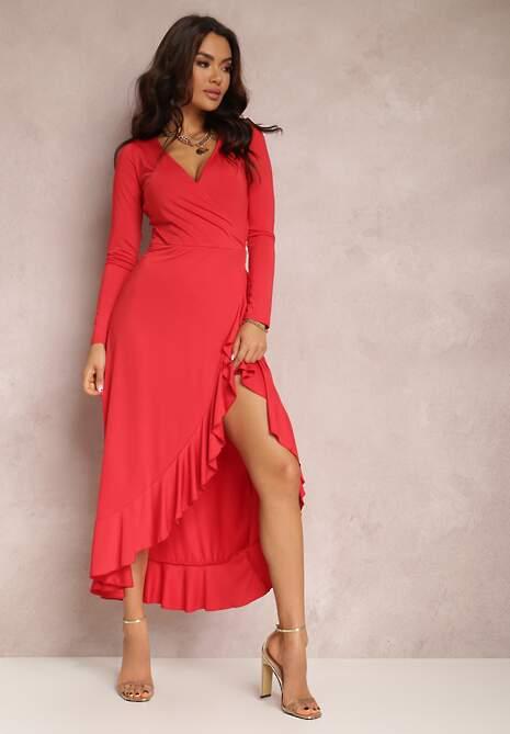 Czerwona Sukienka Mynialle