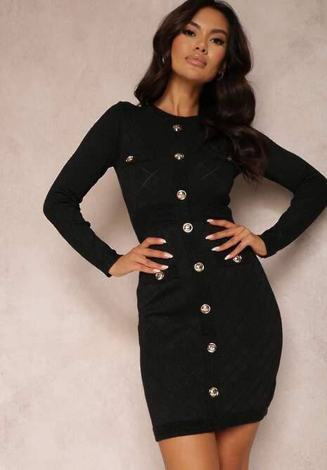 Czarna Sukienka Cilamia