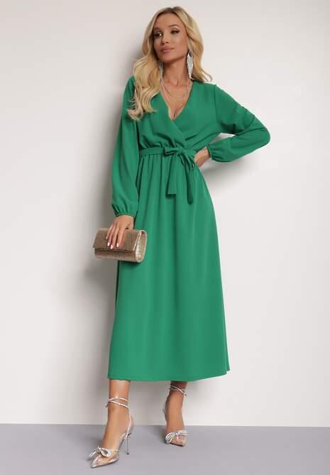 Zielona Sukienka Elrinneth
