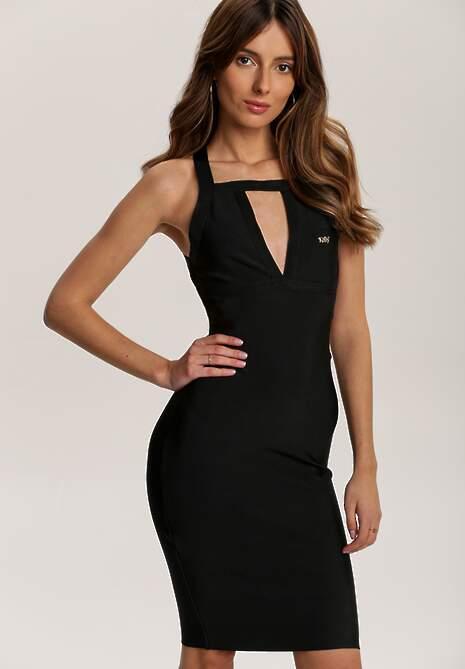 Czarna Sukienka Urifiel