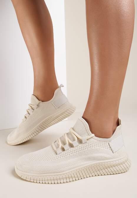 Beżowe Sneakersy Savarorise