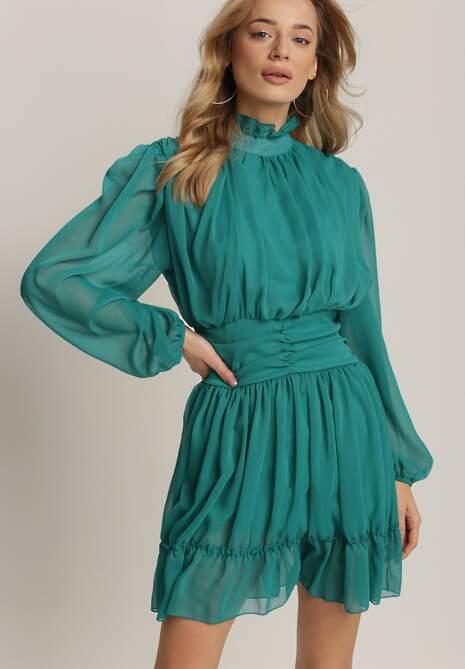Zielona Sukienka Sharlyss