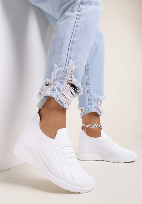Białe Buty Sportowe Euthophila