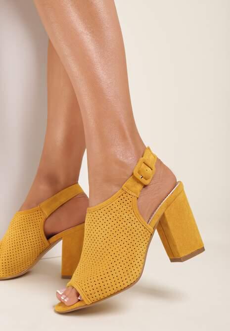 Żółte Sandały Syrolphi