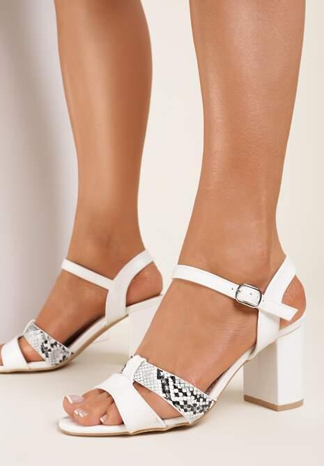Białe Sandały Asheithe