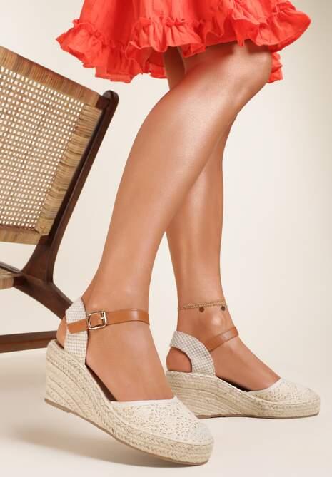 Beżowe Sandały Grullyx