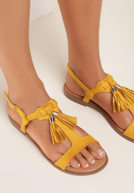 Żółte Sandały Shirinorin