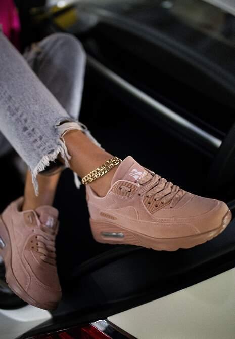 Różowe Sneakersy Aerethea