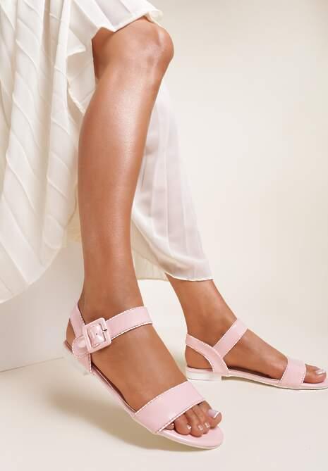Różowe Sandały Amyleora