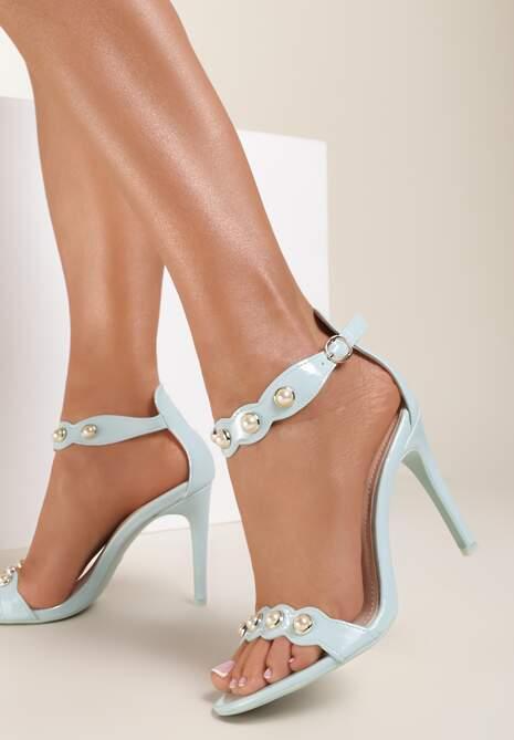 Niebieskie Sandały Limerence