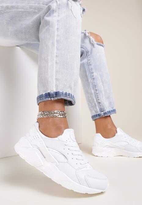 Białe Buty Sportowe Flexiblle
