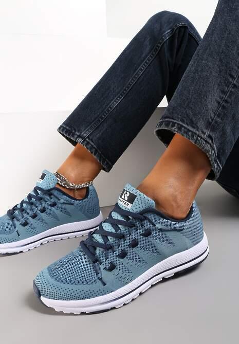 Niebieskie Buty Sportowe Delorenna