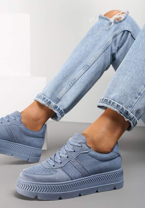 Niebieskie Sneakersy Riparian Rights