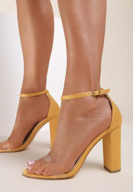 Żółte Sandały Old Souls