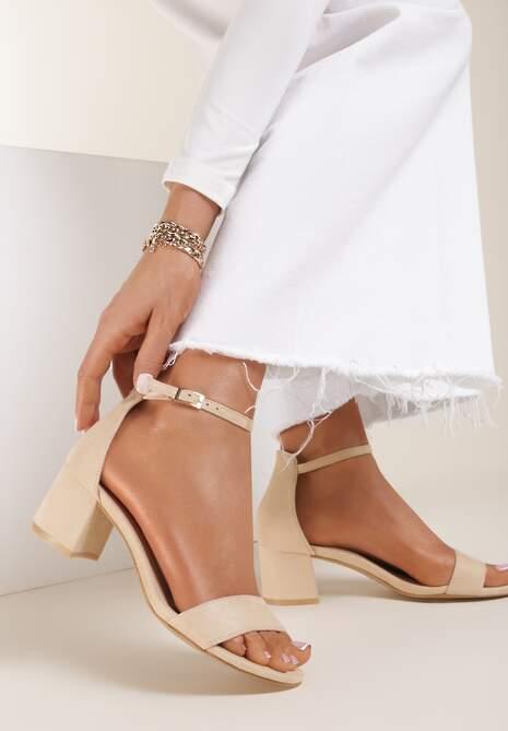 Beżowe Sandały Arievia