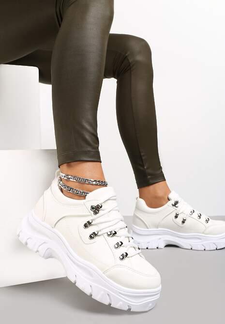 Białe Sneakersy Aquaguna