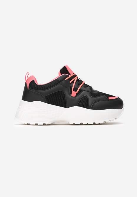 Czarne Sneakersy Euthiaphe