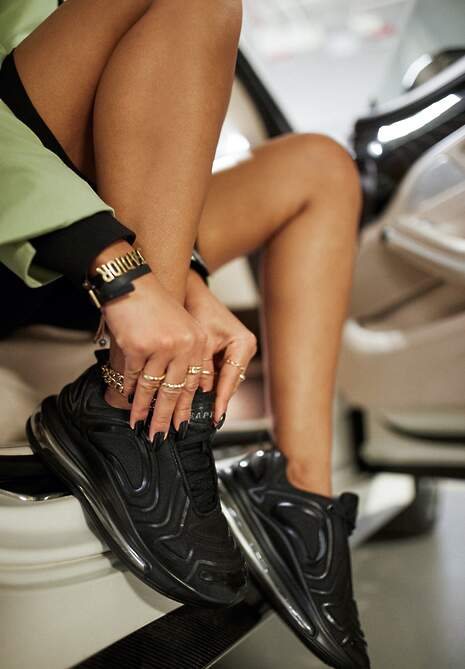 Czarne Sneakersy Prosassea