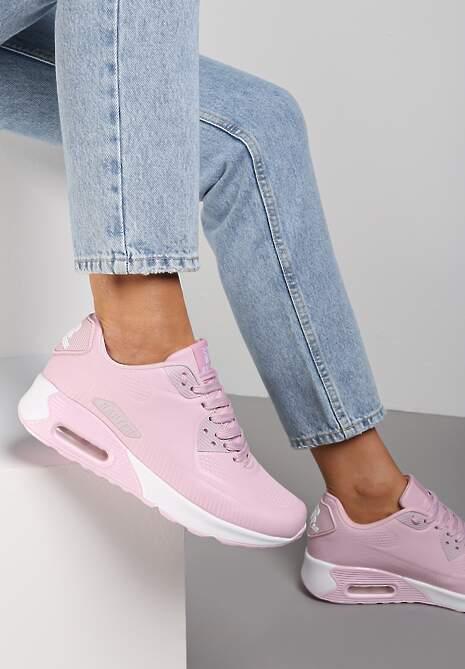 Różowe Buty Sportowe Praxanthe