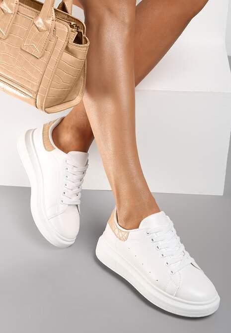 Biało-Beżowe Sneakersy Lucid Dream