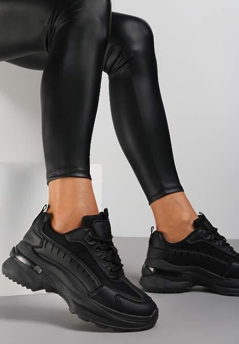 Czarne Sneakersy Brethose