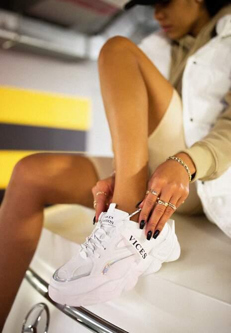 Białe Sneakersy Naerime