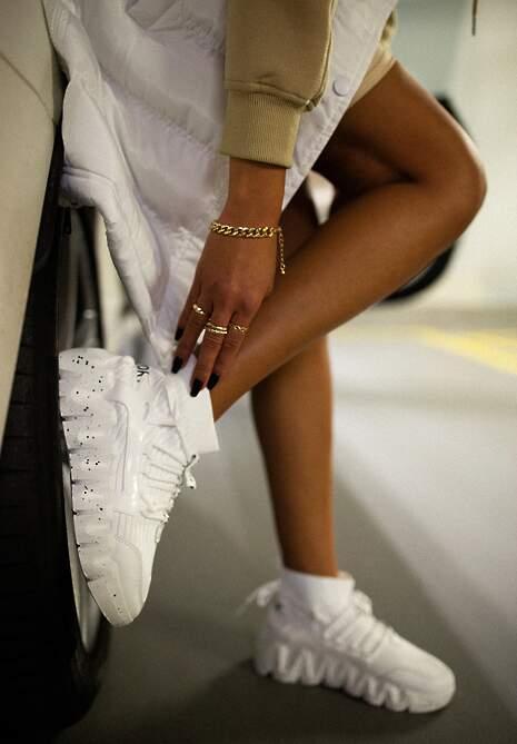 Białe Sneakersy Chrysialla