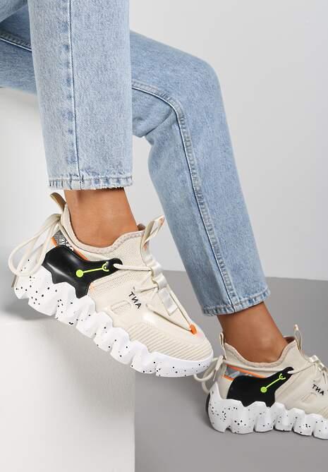 Beżowe Sneakersy Galile