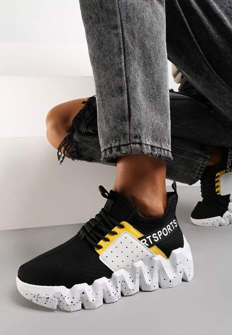 Czarne Sneakersy Phenede