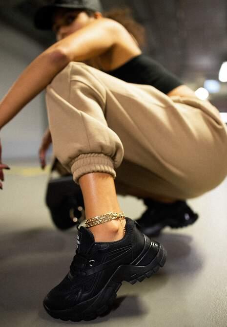 Czarne Sneakersy Dorameia