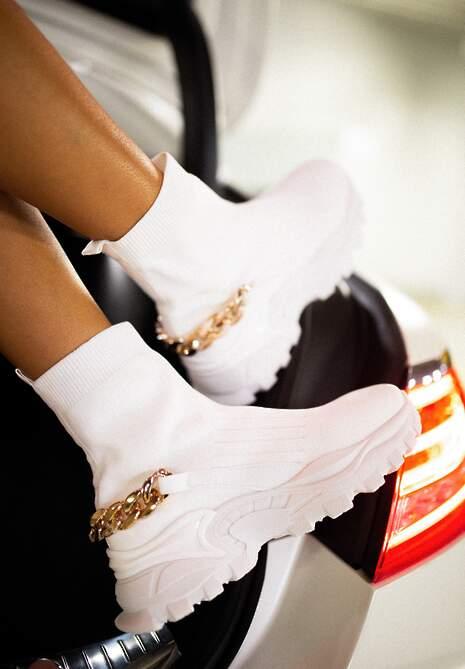 Białe Sneakersy Philopis