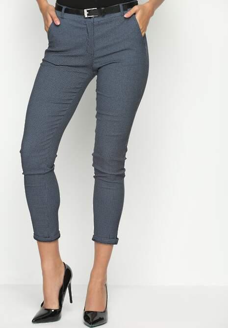 Granatowe Spodnie Class