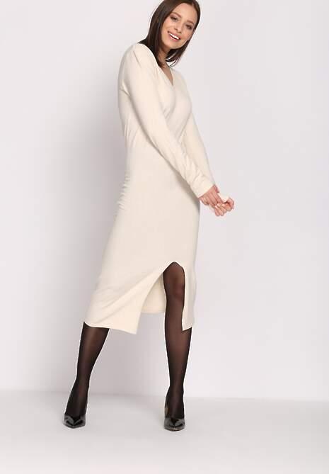Beżowa Sukienka Grant
