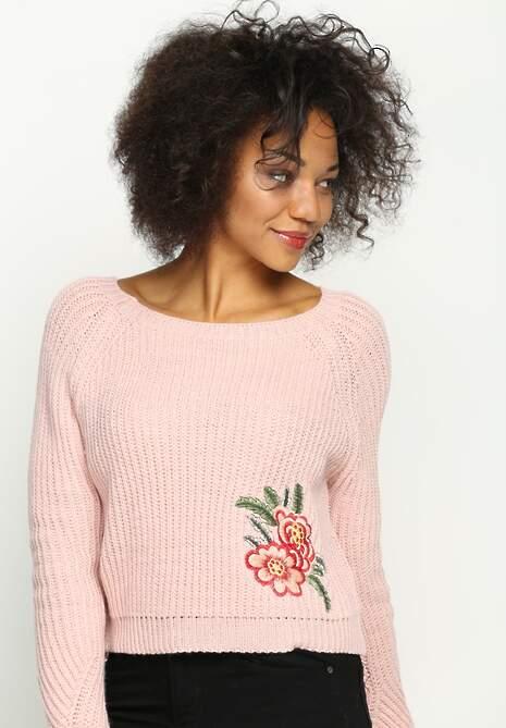 Różowy Sweterek Led Out