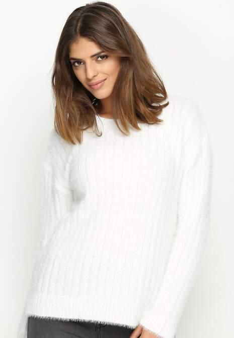 Biały Sweter Southern