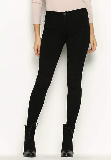 Czarne Spodnie Fav Pair
