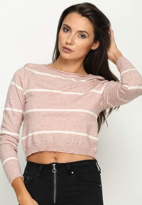 Różowy Sweterek Dilate