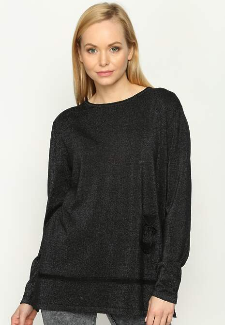 Czarny Sweterek Blink