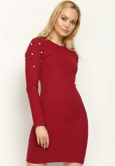 Czerwona Sukienka Dark Diamonds