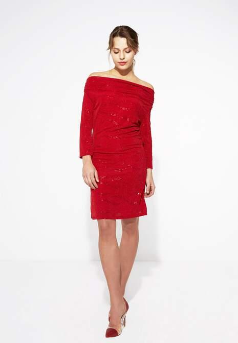 Czerwona Sukienka Party Time