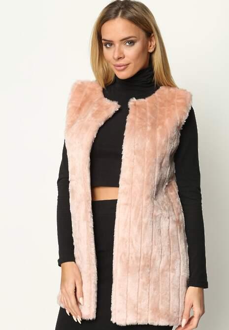 Różowa Kamizelka Glamour Effect
