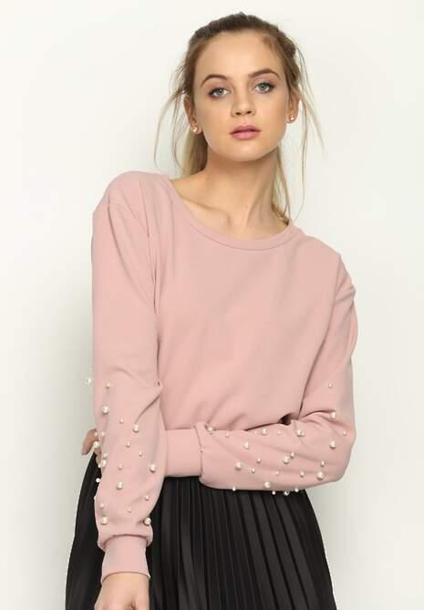 Różowa Bluza Bijou