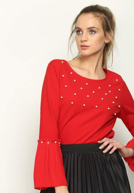 Czerwona Bluzka Jewellery